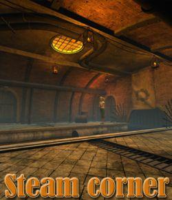 Steam corner