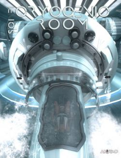 Sci-Fi Cryogenic Room