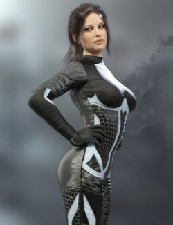 X-Fashion Sci Bodysuit 3 for Genesis 8 Female(s)