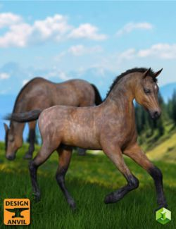 DA Foal and Poses for Daz Horse 2