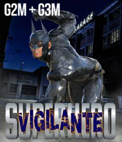 SuperHero Vigilante for G2M and G3M Volume 2
