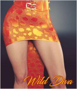 Wild Diva for dForce Diva Skirt G3F and G8F