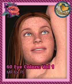 60 Eye Colors: Vol 1 MR for Project: Evolution