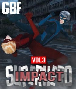 SuperHero Impact for G8F Volume 3