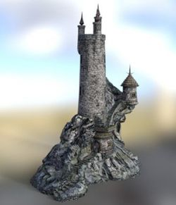 Wizard`s Tower for DAZ Studio