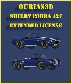Shelby Cobra 427 - Extended License
