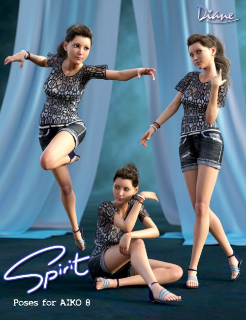 Spirit Poses for Aiko 8