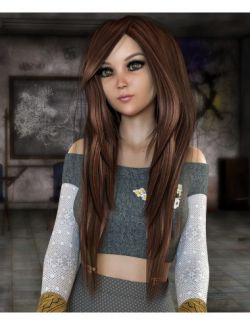 Abigail Hair for Genesis 3 and 8 Female(s)