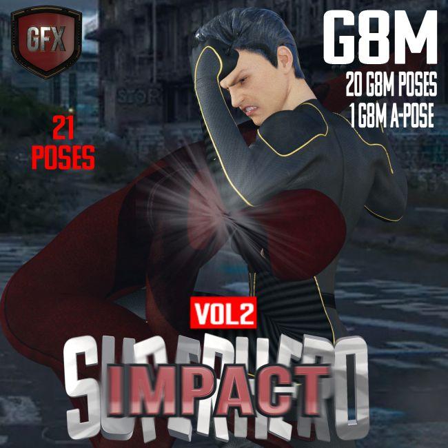 SuperHero Impact for G8M Volume 2
