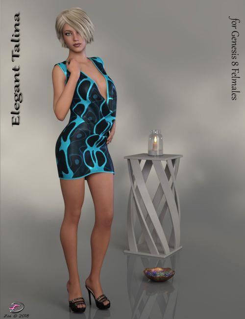 Elegant Talina for Genesis 8 Females