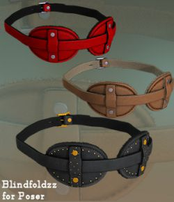 BlindfoldZZ for Poser