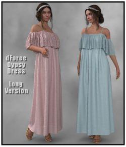 dForce- Long Gypsy Dress for G8F