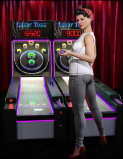 Lazer Toss Arcade Game