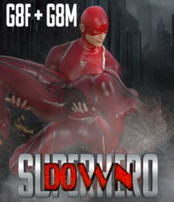 SuperHero Down for G8F and G8M Volume 1