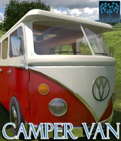 Camper Van for Poser