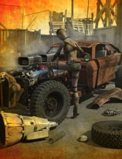 Wasteland Vehicle Construction Set