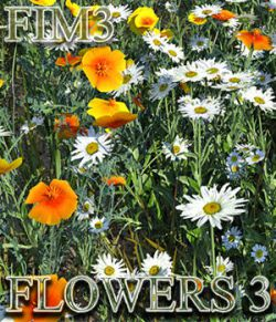 Flinks Instant Meadow 3- Flowers 3