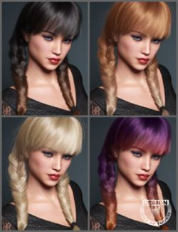 OOT Hairblending 2.0 Texture XPansion for Madeline Tails Hair