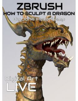 ZBrush Masterclass : How to Sculpt a Dragon