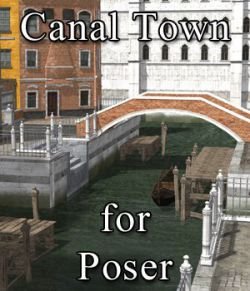 Canal Town for Poser