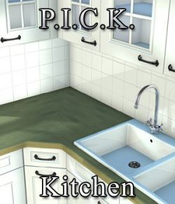 P.I.C.K. Kitchen Expansion Set for Poser