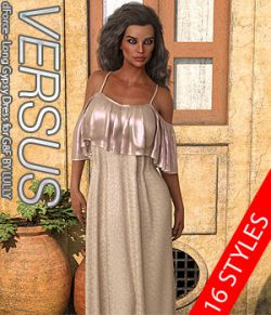 VERSUS- dForce- Long Gypsy Dress for G8F