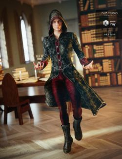 Wizard Apprentice Outfit for Genesis 8 Male(s)