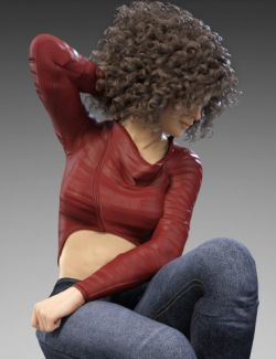 X-Fashion Style Jacket for Genesis 8 Female(s)