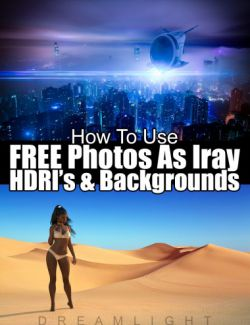 Use Free Photos as Iray HDRI and Backgrounds