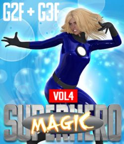 SuperHero Magic for G2F and G3F Volume 4