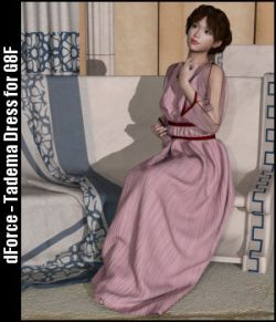 dForce- Tadema Dress for G8F