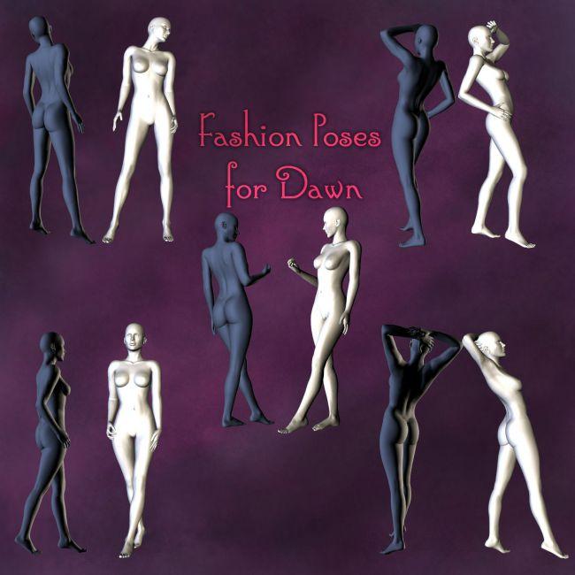 Fashion Poses for Dawn