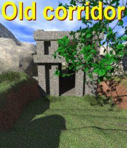 Old corridor Poser