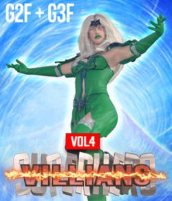 SuperHero Villians for G2F and G3F Volume 4