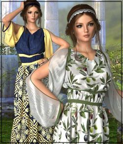 Epic: dForce - Tadema Dress for G8F