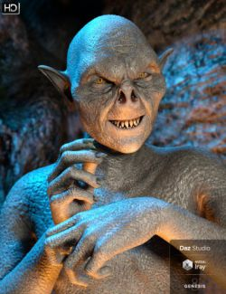 Goblin Raider HD for Genesis 8 Male