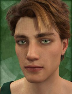 Genesis 8 Male Head Morph Resource Kit 1
