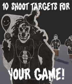 Shoot Targets Pack for Gaming - Extended Licence