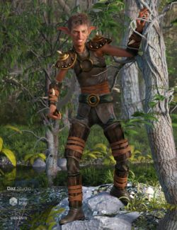 Oak Defender Outfit for Genesis 8 Male(s)