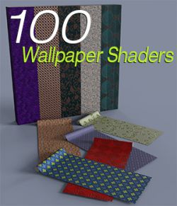 Slide3D 100 Wallpaper Shaders for iRay