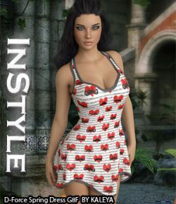 InStyle - Dforce Spring Dress G8