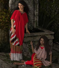 dForce Assyrian Outfit for Genesis 8 Female