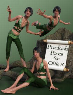 Puckish Poses for Ollie 8