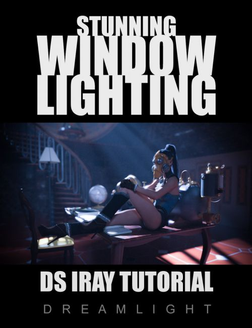 Stunning Window Lighting - Daz Studio Iray Tutorial
