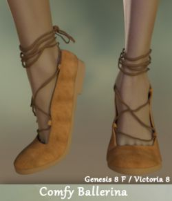 Comfy Ballerina for Genesis 8 Female