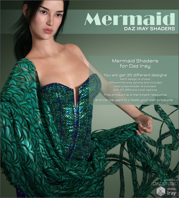 Daz Iray - Mermaid