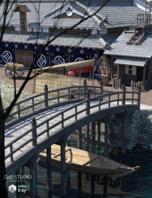 Old Japanese Town Edo Vol.5