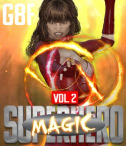 SuperHero Magic for G8F Volume 2