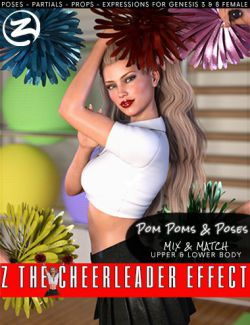 Z The Cheerleader Effect - Props and Poses for Genesis 3 and 8 Female
