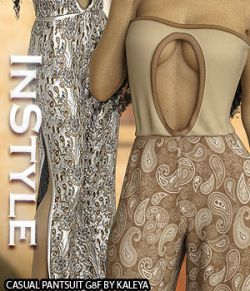 InStyle - Casual Pantsuit G8F